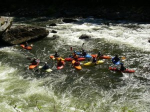 Rasanter Nervenkitzel – White Water Rafting in West Virginia (c) kms/West Virginia Tourism