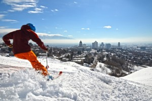 Skifahren in Salt Lake City. © Sean Buckley/Visit Salt Lake