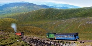 Großartiges Panorama in den White Mountains (c) Cog Railway
