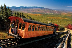 Steil bergauf in den White Mountains (c) Cog Railway