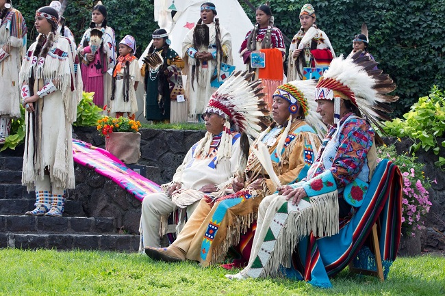 Indianische Kultur steht im Mittelpunkt des Happy Canyon Pageant in Pendleton 1 (c) Travel Oregon
